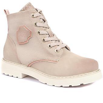 Bugatti Womens Lace-Up Ankle Boots