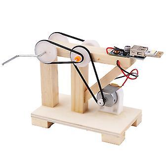 Ensemble manuel de matériel manuel de kit de construction de générateur de main de diy