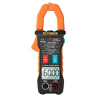 True rms clamp meter with app remote control autoranging diode hertz temperature tester