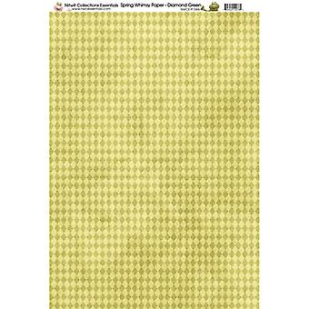 Nitwit Collection - SW Diamond Paper A4 10 Sheets