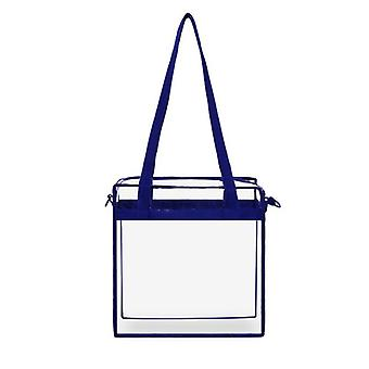 Clear Tote Bag With Zipper Closure Crossbody