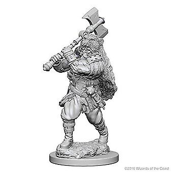 D&D Nolzur's Marvelous Unpainted Minis Human Male Barbarian (Pack of 6)