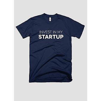 Inwestować w mój T-shirt uruchamiania