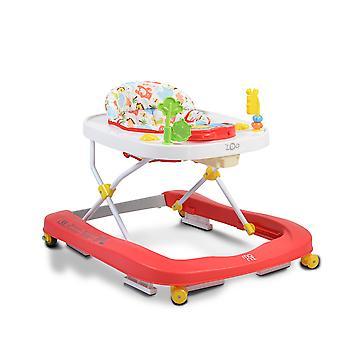 Moni runner's trolley Zoo 2 in 1, play center, draaiwielen voor, hoge rugleuning