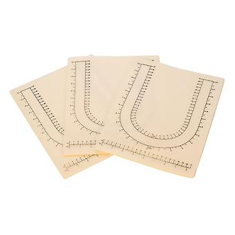 Imprinted Bead Mats - Prevent Beads From Rolling 12.5 x 9.5 Inches (Pack Of 3)