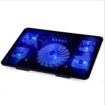 Горячая Продажа Подлинный вентилятор, Usb ноутбук кулер, охлаждение Pad Базы Led.