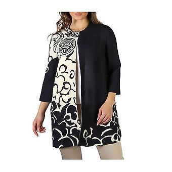 Fontana 2.0 - Clothing - Coat - AMBER-MP1901RA17-BLU-BIANCO - Ladies - black,wheat - 44