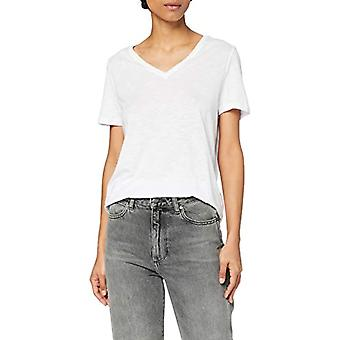 PIECES PCKAMALA SS Top Noos BC T-Shirt, White, S Woman