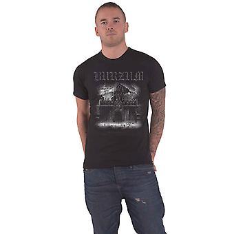 Burzum T Shirt Det Som Engang Var 2013 band logo Official Mens Black