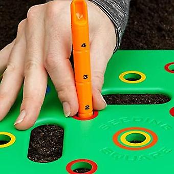 A Seed-sowing Template – Grow Perfectly Spaced Vegetables, Reduce Weeds
