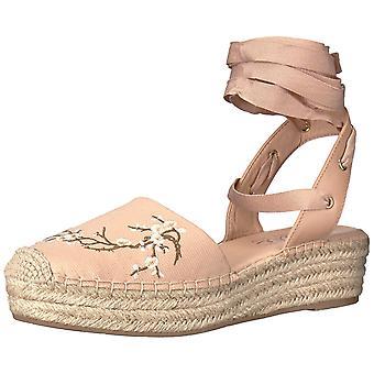 Nanette Lepore Womens Beatriz Fabric Round Toe Casual Espadrille Sandals