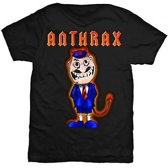 Anthrax TNT Cover Mens Black T-Shirt: Medium