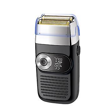 LCDデジタルディスプレイ付き多機能電気男性のはげヘアクリッパー