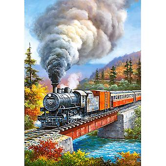 Castorland Train Crossing Jigsaw Puzzle (500 Pieces)