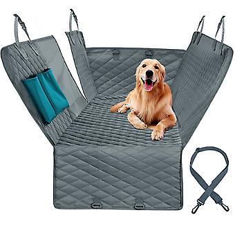 Hund bilbarnstolsskydd 100% vattentät husdjur hund resematta mesh hundbärare