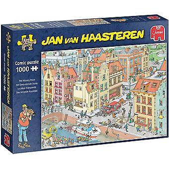 Jumbo Jan Van Haasteren The Missing Piece Jigsaw - 1000 Piece