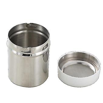 Stainless steel kitchen seasoning pot for cocoa and pepper duster(M 7*9)