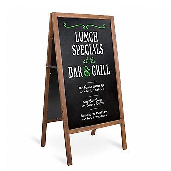A-board Frame Pavement Sign Free Standing Floor Chalkboard