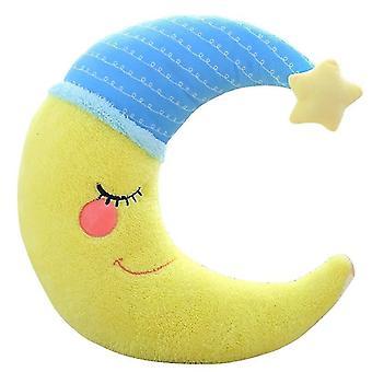 Sky series plush toy stuffed soft cartoon moon plush pillow cute sofa cushion (15 * 40cm)