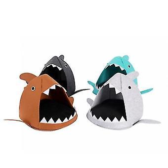Cartoon Cat Litter Shark Four Seasons Folding (Verde)