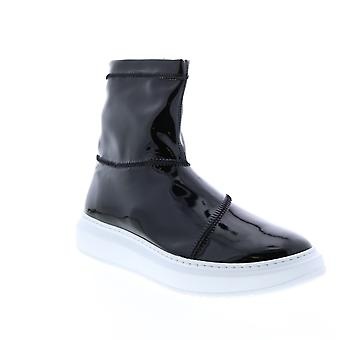 Aquatalia Adult Womens Lidia Stretch Patent Lifestyle Sneakers