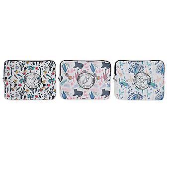 iPad Case DKD Home Decor Polyester Baumwolle (3 Stück)