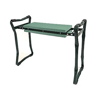 Tuinkruk kniekruk/stoel vouwen Zwart/groen