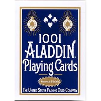 ALADDIN Playing Cards Red/Blue/Black Deck USPCC New Edition Magic Collectible Poker Magic