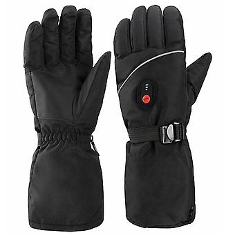 Adult Gloves Three-speed Temperature Control Outdoor Warm Electric Ski Gloves