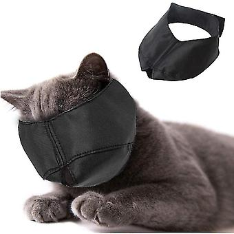 Nylon Cat næse - Cat Næse - Pet Grooming Tilbehør - Forhindrer ridser og bid - Størrelse L