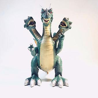 Three-headed Pterodactyl Simulation Electric Tyrannosaurus Rex Children's Toys