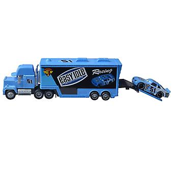 Cars 3 1:55 Toy Diecast Metal Alloy Model Car Toys  No.51 Blue
