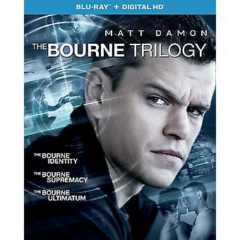 Bourne Trilogy [Blu-ray] USA import