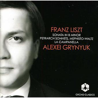 F. Liszt - Liszt: Piano Sonata; Petrarch Sonnets; Mephisto-Waltz; La Campanella [CD] USA import