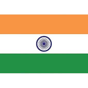 5ft x 3ft Flag - India