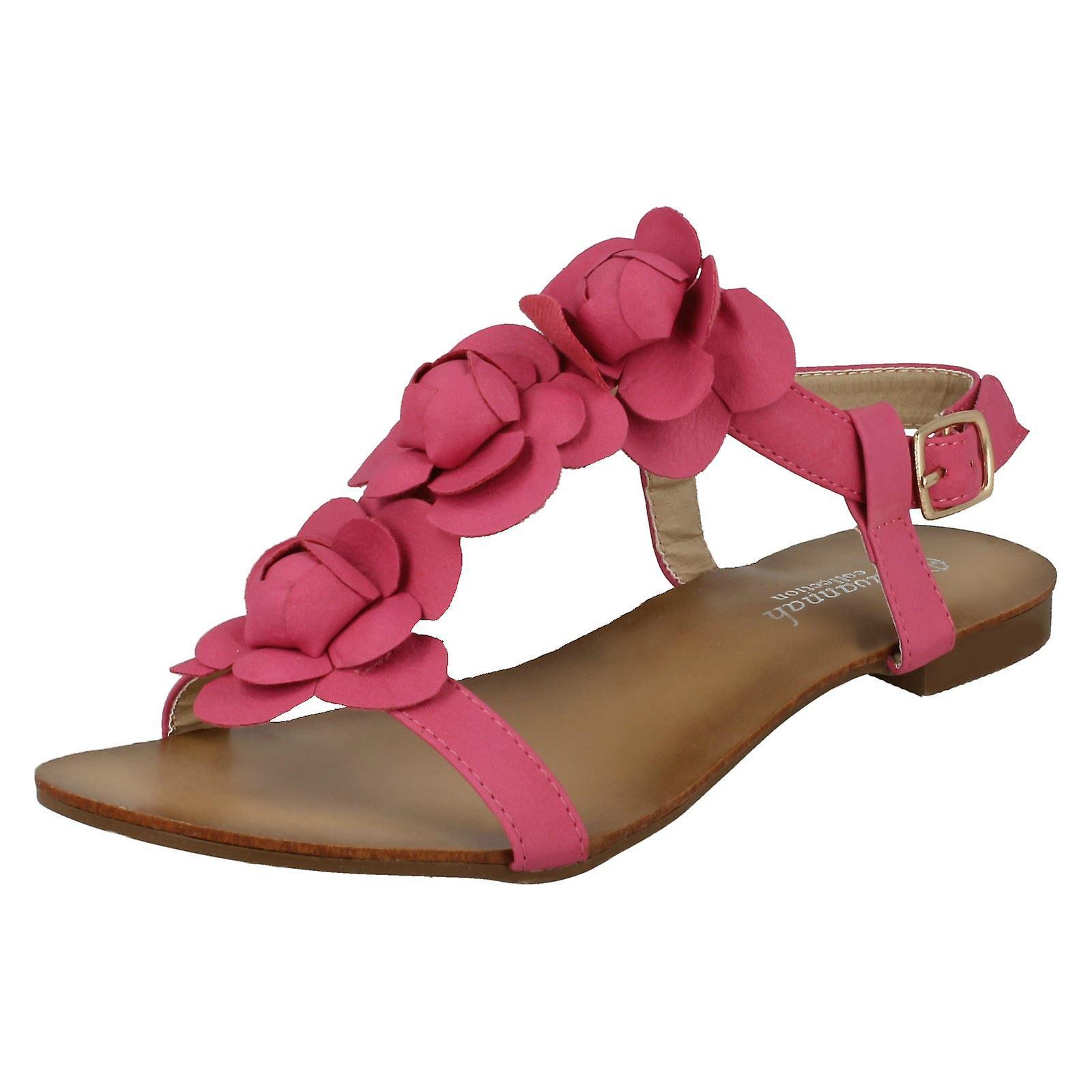 Sandały damskie Savannah z motywem kwiatowym dhOH8