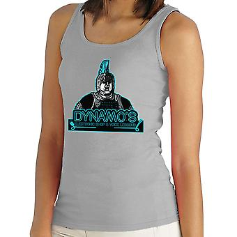 Dynamos Electronic Shop and Voice Lessons Running Man Women's Vest