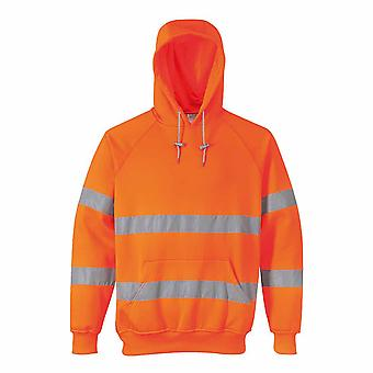 Portwest - Hi-Vis Safety Workwear Hooded Sweatshirt