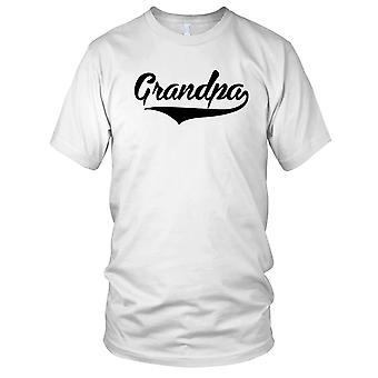 Grandpa Fathers Day Christmas Birthday Present Ladies T Shirt