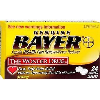 Comprimidos de 325 mg revestido de Aspirina Bayer