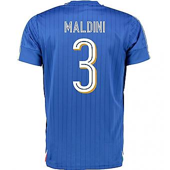 2016-2017 Italia Puma Inicio camisa (Maldini 3) - niños