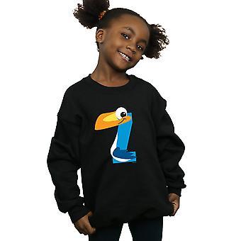 Disney Girls Alphabet Z Is For Zazu Sweatshirt