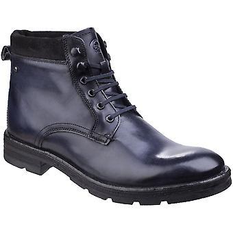لندن قاعدة رجالي بانزر غسلها تخريم الجلود حتى أحذية الكاحل العمل العصرية