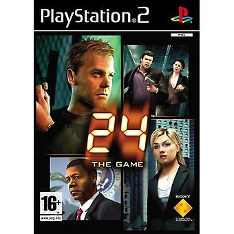 24 the Game (PS2) - New Factory Sealed