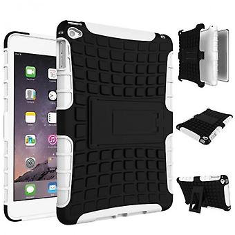Hybrid outdoor protective cover case white for Apple iPad 2 / 3 / 4 Pocket