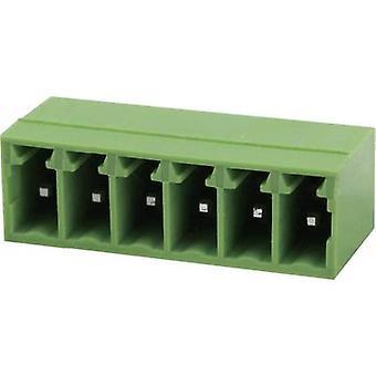 Degson Socket enclosure - PCB Total number of pins 12 Contact spacing: 3.81 mm 15EDGRC-3.81-12P-14-00AH 1 pc(s)