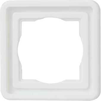 Kopp 302302071 1x rango de productos de interruptor de habitación húmeda Frame Arktis White