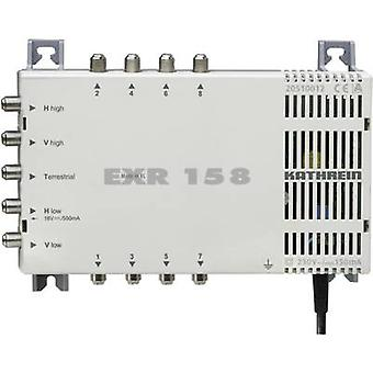 Kathrein EXR 158 SAT multiswitch Inputs (multiswitches): 5 (4 SAT/1 terrestrial) No. of participants: 8