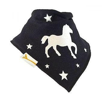 Schwarzen Starlet Pferd Bandana Lätzchen