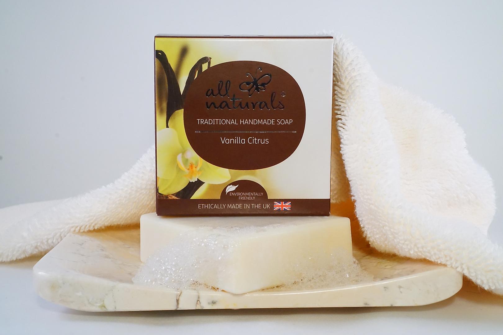 All Naturals Organic Soap Vanilla Citrus 100g